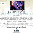 Hilton Bromsgrove & Hi-Life Diners Card
