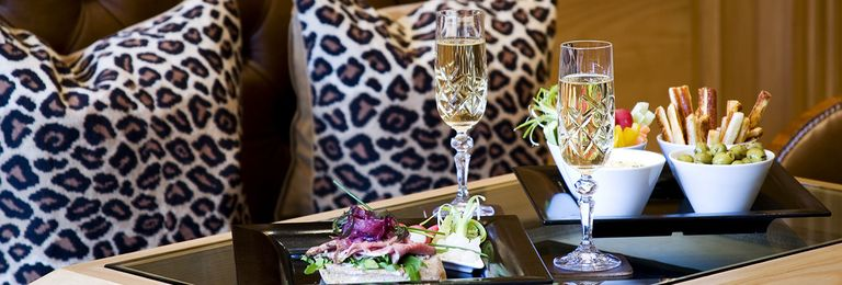 Leopard Champagne Bar