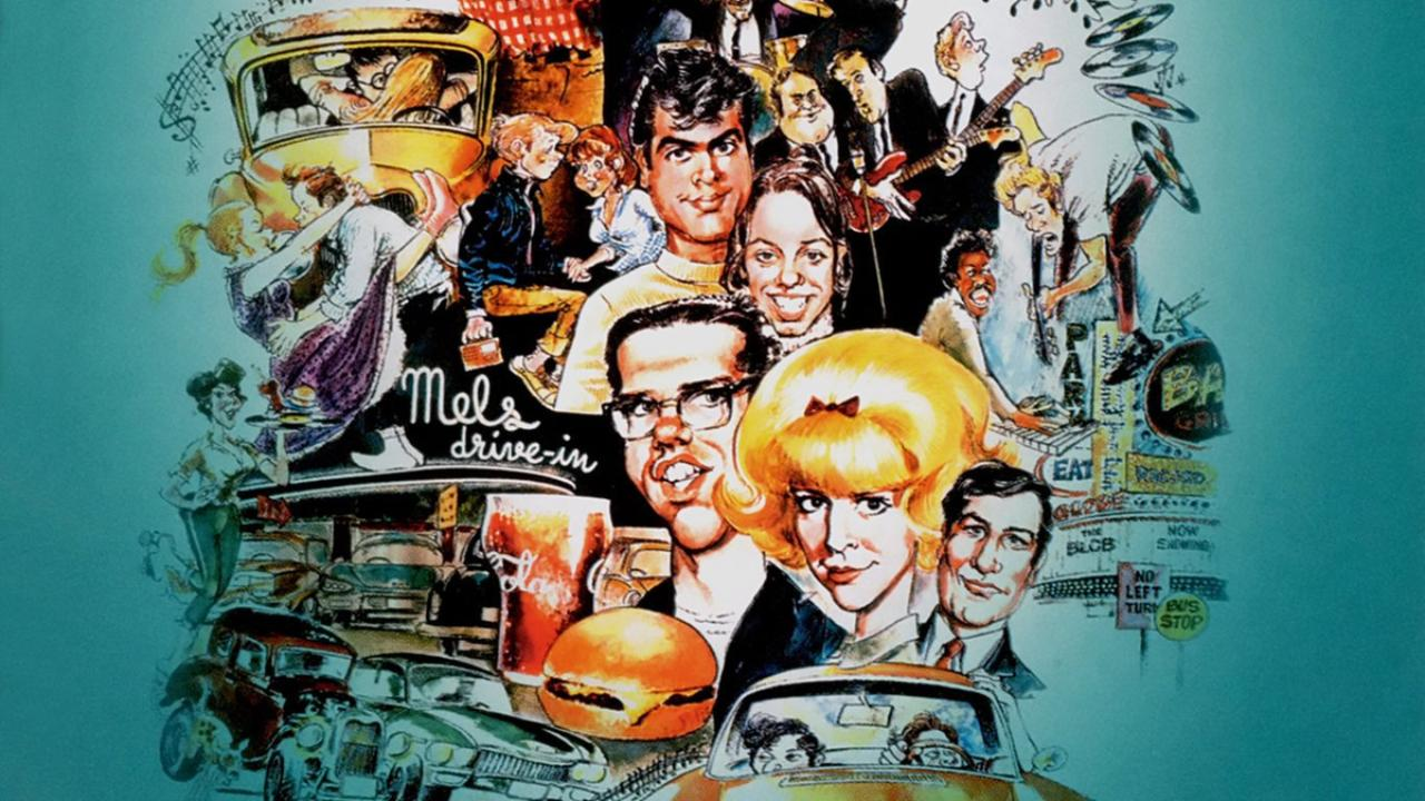 american graffiti A nostalgic look back at one night during the summer of 1962 in a small northern california town.