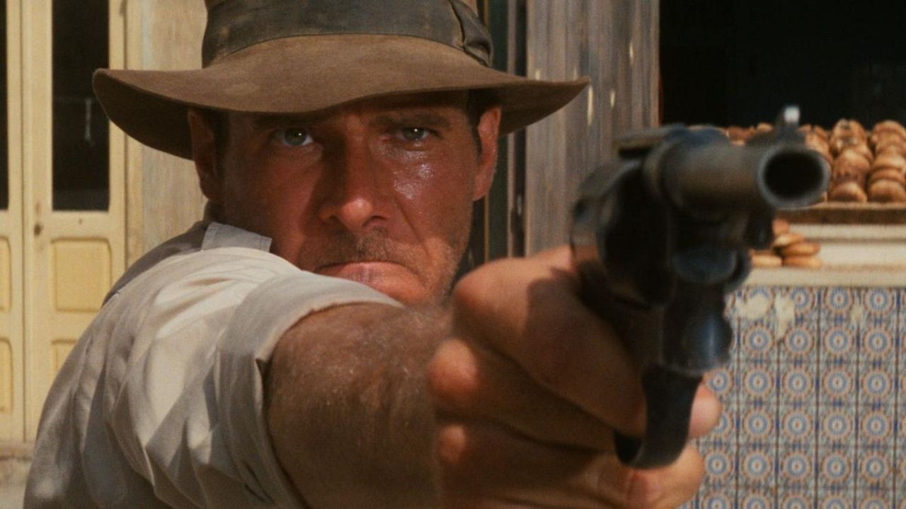 raiders of the lost ark and film Raiders of the lost ark is an action / adventure film created by george lucas and released through paramount pictures in 1981 it is the first indiana jones movie ever released and is considered to be chapter twenty-four in the complete adventures of indiana jones.