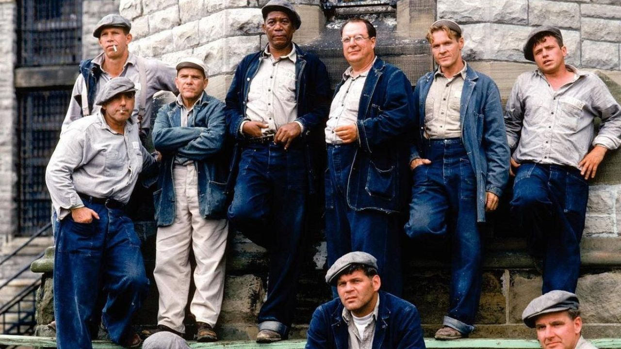 the elements of a dark fairy tale in the shawshank redemption a drama film by frank darabont
